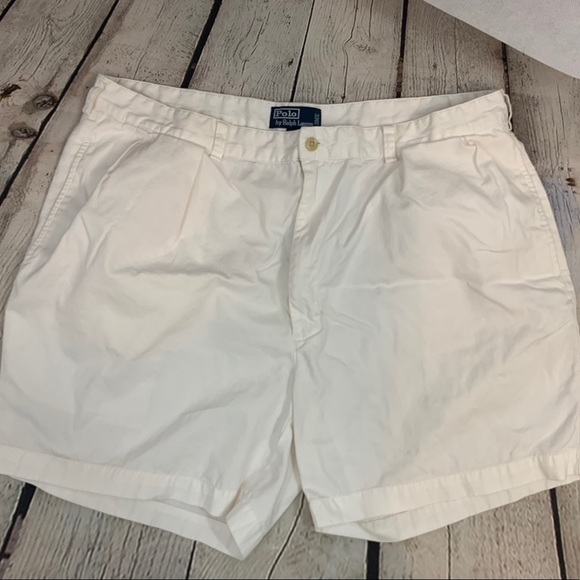 Polo by Ralph Lauren Other - Polo Ralph Lauren mens white Andrew Shorts size 42